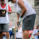 Sophie Flabouris make her shot during the Women's Cities Golf Tournament at Nabnasset Lake Country Club. SUN/Caley McGuane